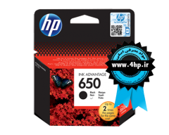 HP 650 Black Original Ink Advantage Cartridge CZ101AE